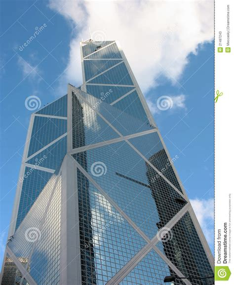 bank of china stock bank of china central district hk editorial stock photo