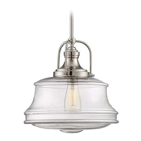 Savoy Pendant Lights Savoy House Lighting Garvey Polished Nickel Pendant Light 7 5012 1 109 Destination Lighting