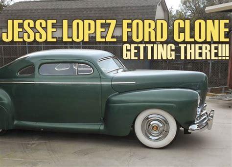 jess ford clone nearly done custom car