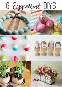ideas for easter 6 quot eggcellent quot diys easter spring ideas the inspired room