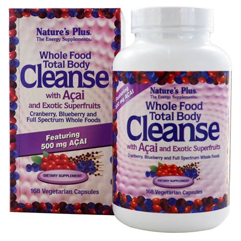 Detox Nd Clense by Nature S Plus Whole Food Total Cleanse With Acai