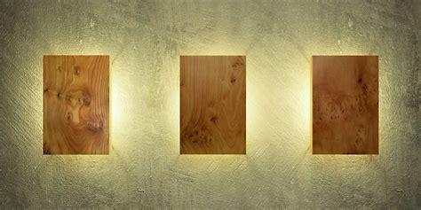 moderne wandleuchten design wandleuchte aus holz modern und einzigartig