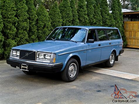 blue volvo station 1983 volvo 240dl station wagon one owner amazing