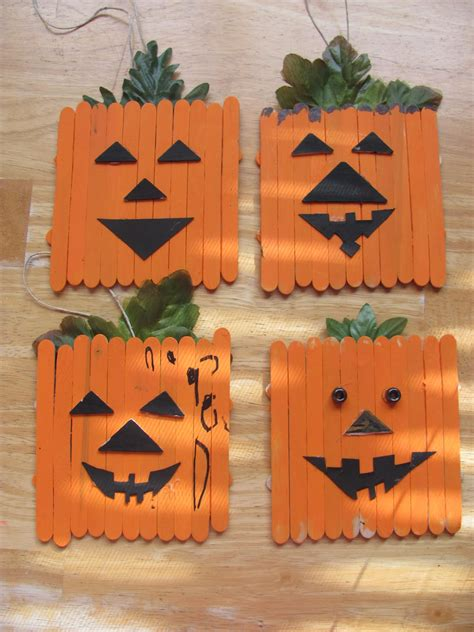 pumpkin arts and crafts hanging by a silver lining how to stick it to zero
