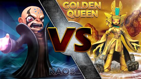 Kaos Fangkeh Lover Cat V Ii skylanders trap team kaos vs golden
