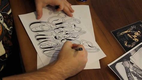 tattoo lettering youtube chicano lettering tattoo lettering tattooscript how to