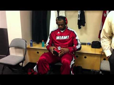 lebron locker room lebron in heat locker room before 4 of 2011 nba finals
