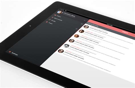 ipad ui pattern gallery flattened iphone and ios app ui design templates