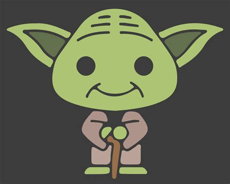 cartoon yoda wallpaper clipart yoda