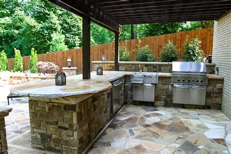 cost of an outdoor kitchen atlanta outdoor living the possibilities and the costs