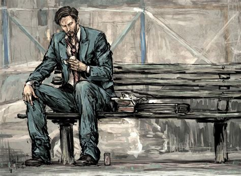 keanu reeves on a bench image 362865 keanu is sad sad keanu know your meme