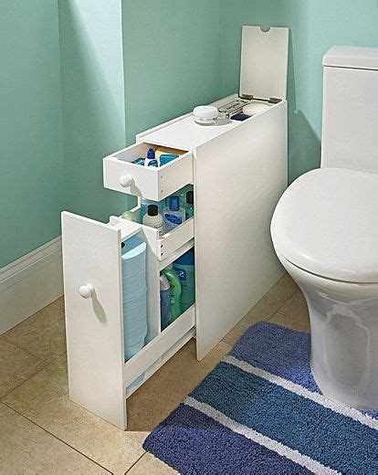slim bathroom storage cupboard thin cabinet unit white