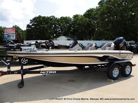 nitro boats nitro z18 bass boats new in warsaw mo us boattest