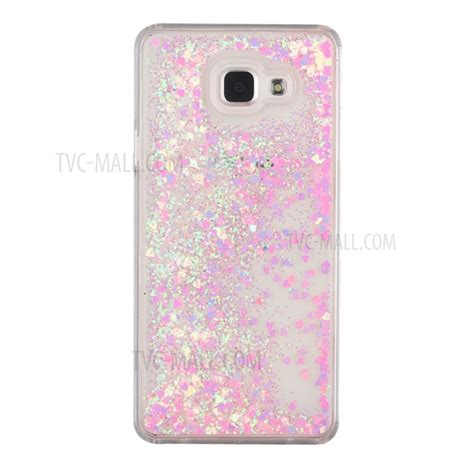 Samsung A5 2017 Glitter Air Gambar flowing glittery sequins pc shell cover for samsung galaxy a5 sm a510f 2016 pink tvc