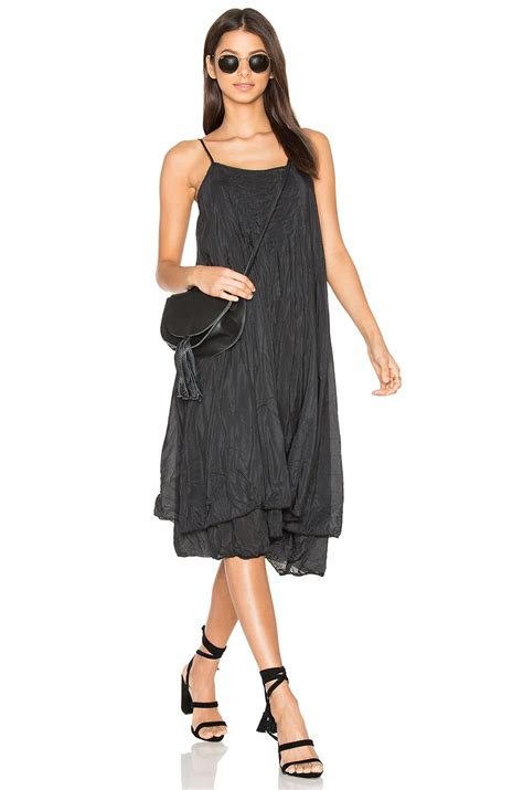 Cp Dress by Cp Shades Lia Silk Dress In Black Lyst