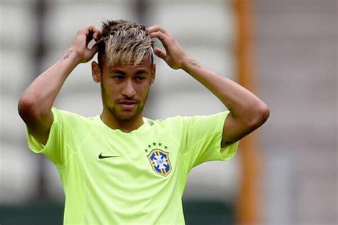 neymat blond soccer gods on twitter quot breaking neymar is blonde today