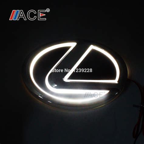 Light Up Car Emblems by Lexus Emblem Light