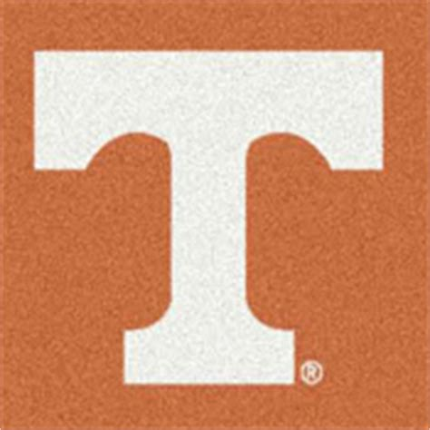tennessee vols rug of tennessee college area rugs mats carpet