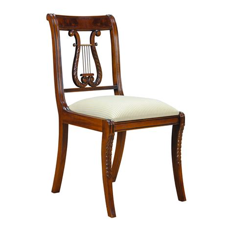 Harp Back Dining Chairs by Lyre Side Chair Harp Back Chair Niagara Furniture Free