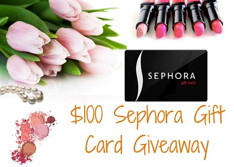 Sephora Gift Card Giveaway - giveaway archives pink column