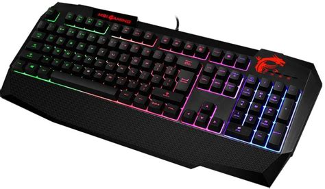 Keyboard Gaming Msi msi interceptor ds4200 gaming keyboard dubai abu dhabi uae dubizar