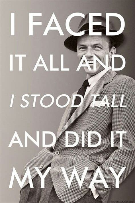 lyrics frank sinatra sinatra quot my way quot inspirational song lyrics