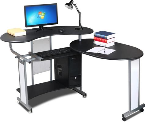 Modern Workstation Desk Corner Computer Desk Bedroom Furniture Workstation Office Unit Modern Pc Table Ebay