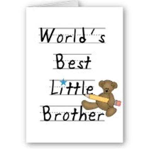 printable birthday cards for little brother birthday sayings for little brother gallery for gt funny