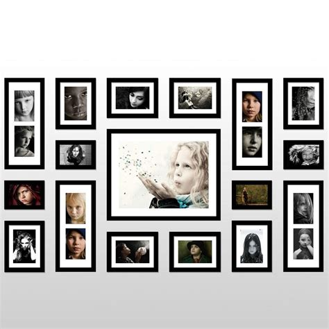 Photo Home Decor by Family Wall Frame Set Girls Wallpaper