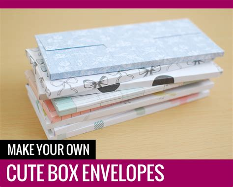 Make Your Own Paper Box - make your own box envelopes paper and landscapes
