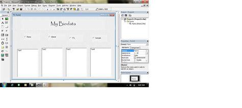 membuat biodata menggunakan html membuat biodata dengan vb lina ourvheuzz x rpl