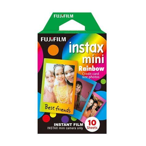 Fujifilm Instax Mini Paper jual fujifilm instax mini paper rainbow harga