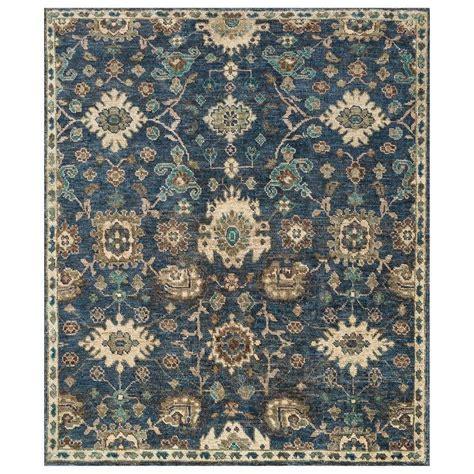blue medallion rug patterned jute rug roselawnlutheran