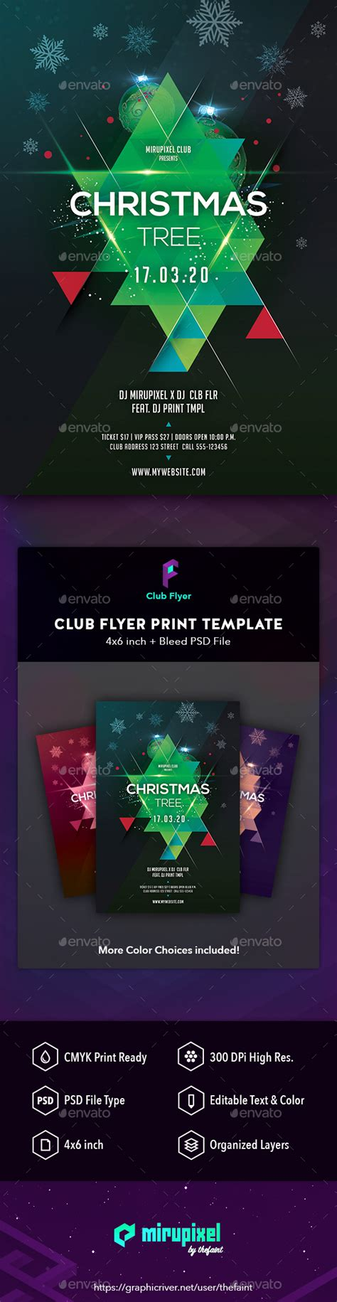 Blank Christmas Club Flyer Design 187 Tinkytyler Org Stock Tree Lighting Flyer Template