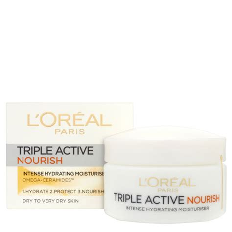 Loreal Active 50 Ml 4 Variant l oreal dermo expertise active nourish hydrating moisturiser to