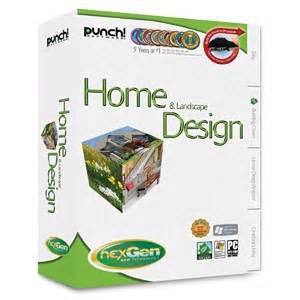 punch software home landscape design next
