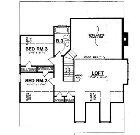 back bathroom floor plan revisions dscn home creative traditional style house plan 3 beds 2 5 baths 2284 sq ft