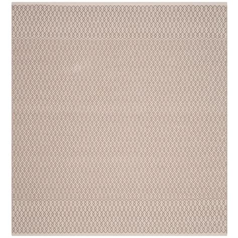 6 ft area rugs safavieh montauk ivory gray 6 ft x 6 ft square area rug
