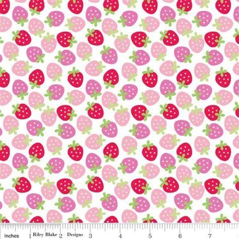 doodlebug designs fabric sweetcakes doodlebug designs rb strawberries pink