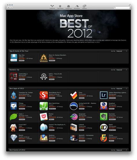best mac 2012 mac app store 226 best of 2012