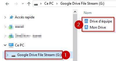 drive file stream utiliser la solution drive file stream pour google drive