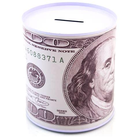 big coin bank 100 dollar bill metal coin bank money pot large non