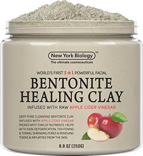 bentonite clay tattoo removal bentonite clay mask infused with organic apple cider