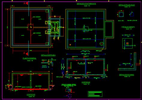 M Drawing In Autocad by Reservoir 400m3 Dwg Detail For Autocad Designs Cad