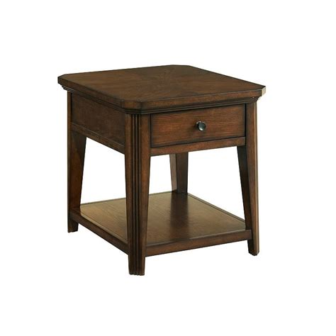 discount accent tables broyhill 4364 002 estes park drawer end table discount