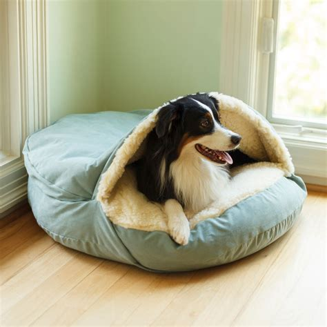 cave dog bed snoozer luxury cozy cave 174 dog bed 28 colors fabrics 3