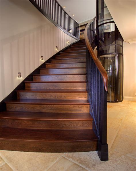 houzz cpm modern wood staircase