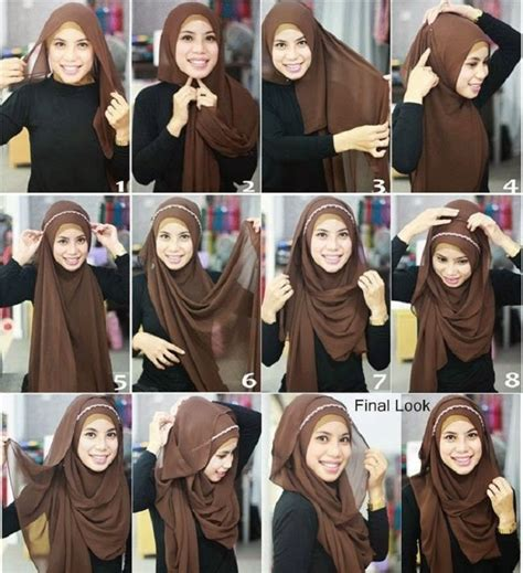 how to wear hijab hijab styles tutorial step by step best hijab styles designs for different face shapes