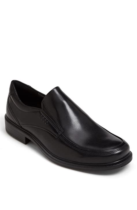 ecco loafer ecco dublin venetian loafer in black for lyst