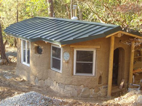 small house build beautiful cob